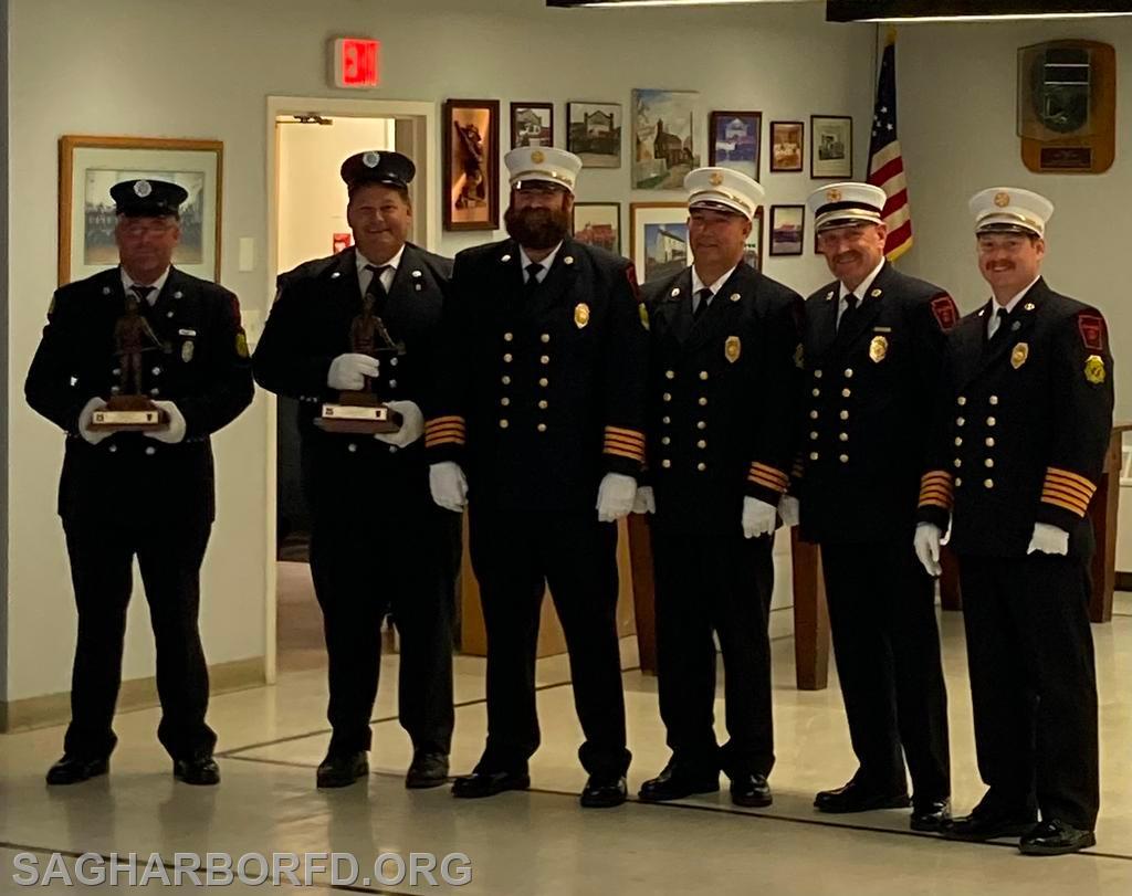 25 Years of Service Left to Right: Kevin Miller, Richard Schiavoni, Andrew Blodorn, Michael Guyer, Steven Miller, Kevin O'Brien Jr